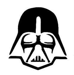 Darth Vader clipart minimalist