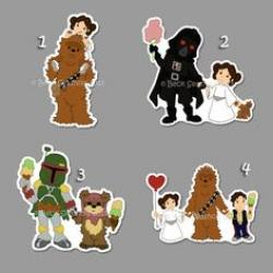 Darth Vader clipart princess leia