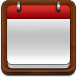 Date clipart blank calendar