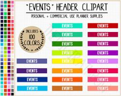 Date clipart party planning