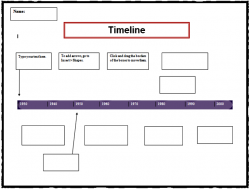 Templates  clipart timeline