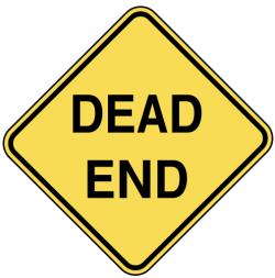 End clipart dead end