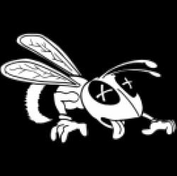 Dead clipart hornet