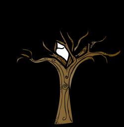 Pine Tree clipart bare