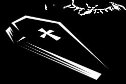 Deadth clipart coffin