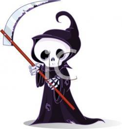 Deadth clipart cute