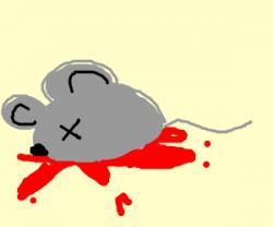 Deadth clipart dead mouse