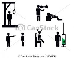 Dying clipart death penalty