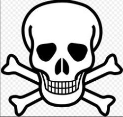 Dying clipart death symbol
