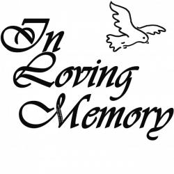 Funeral clipart memory