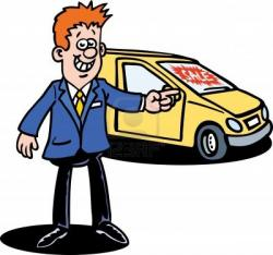 Dealership clipart salesperson