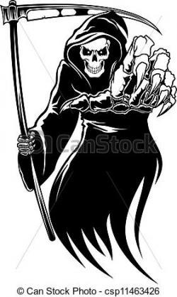Deadth clipart scythe