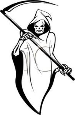 Deadth clipart sickle