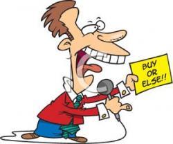Dealership clipart car salesman