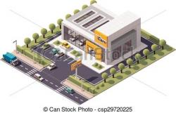 Dealership clipart showroom