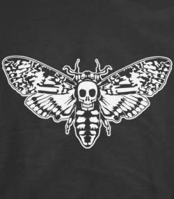 Deaths Head Moth clipart death mask