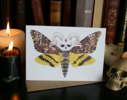 Deaths Head Moth clipart occultism