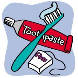 Teeth clipart toothbrush toothpaste