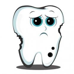 Decay clipart strong tooth