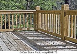 Porch clipart wooden