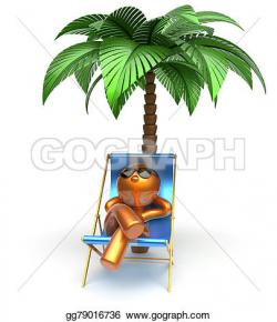 Comfort clipart relaxed person