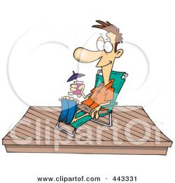 Deck clipart cartoon