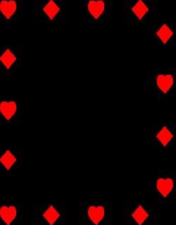 Poker clipart border