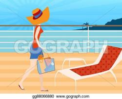 Deck clipart cruise vacation