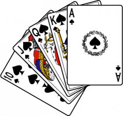 Poker clipart deck card