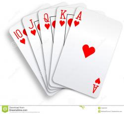 Poker clipart poker hand