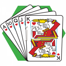 Poker clipart king card
