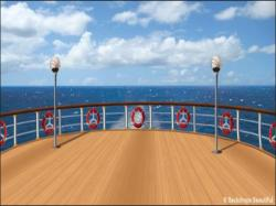 Deck clipart ship deck