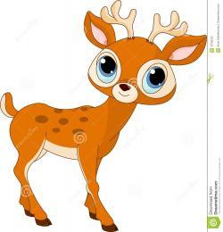 Dear clipart baby deer