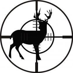 Target clipart deer hunting