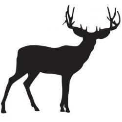 Hunting clipart mule deer