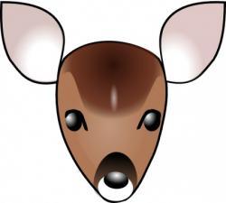 Gazelle clipart face