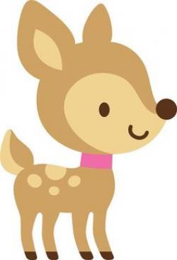 Dear clipart woodland deer