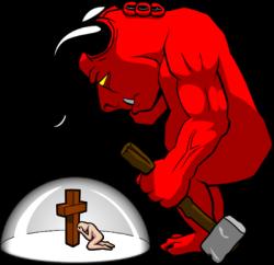Satanism clipart demon