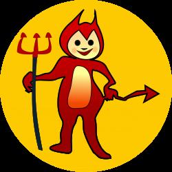 Devil clipart icon