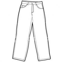 Jeans clipart sweat pants