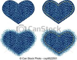 Denim clipart vector