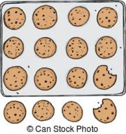 Danish clipart cookie tray