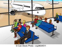 Airport clipart aeropuerto