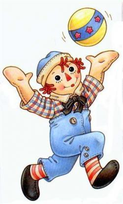Dall clipart raggedy ann and andy