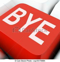 Departure clipart bye bye