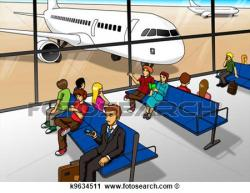 Airport clipart animated