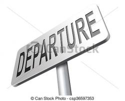 Departure clipart journey