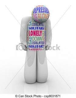 Lonely clipart outcast
