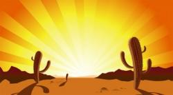 In The Desert clipart