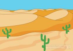 Dune clipart desert ecosystem